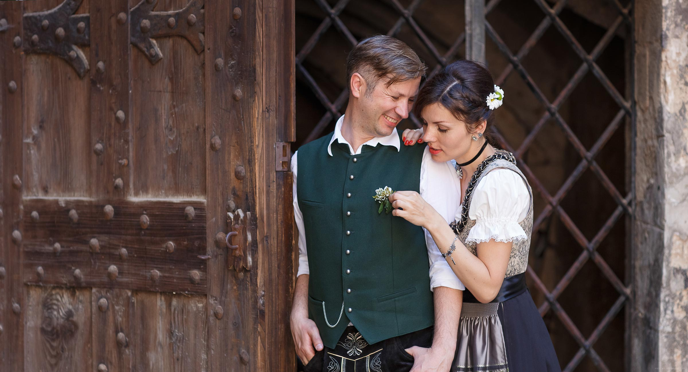 Bavarian wedding dress