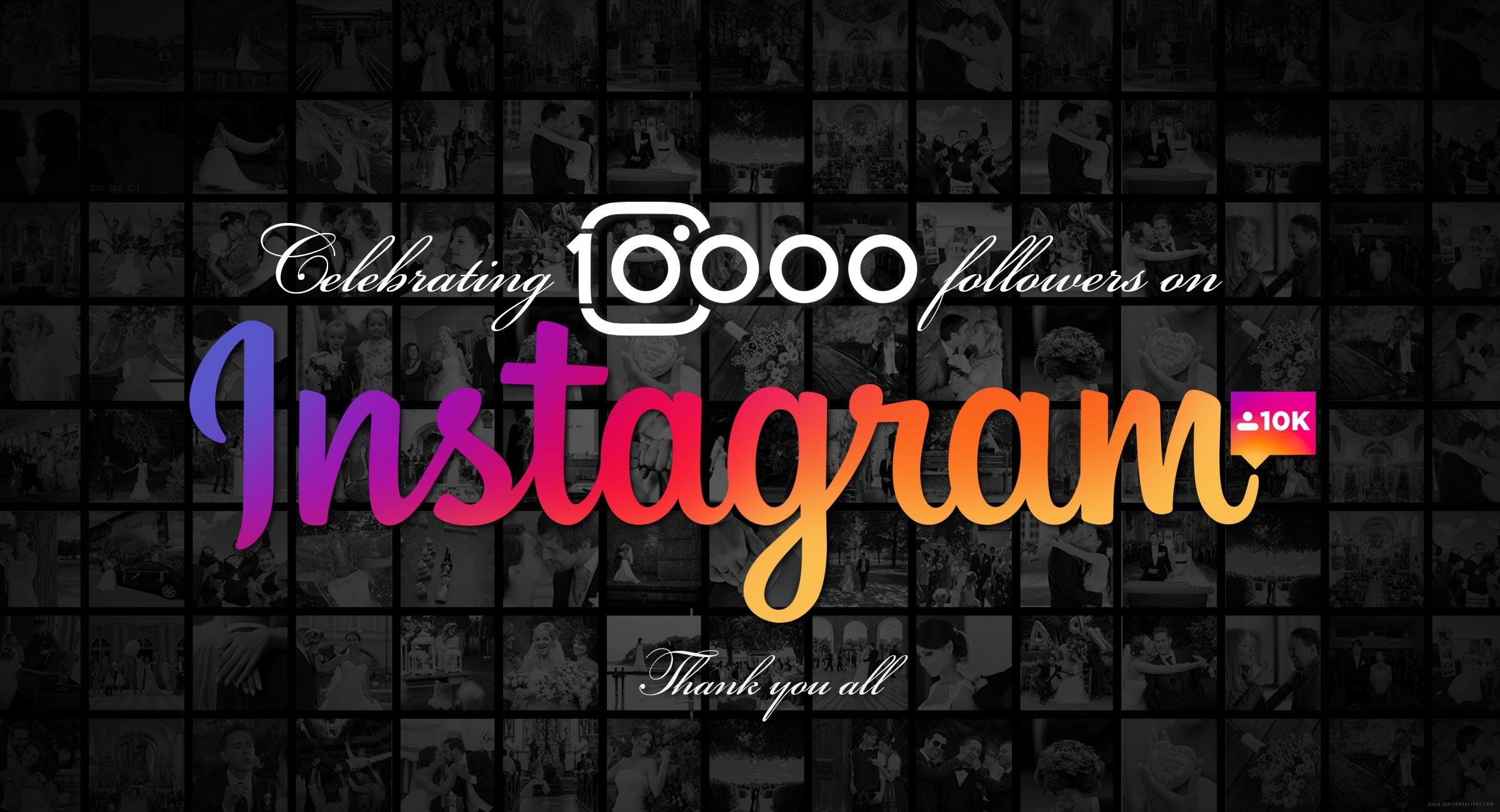 10 тысяч подписчиков на Instagram
