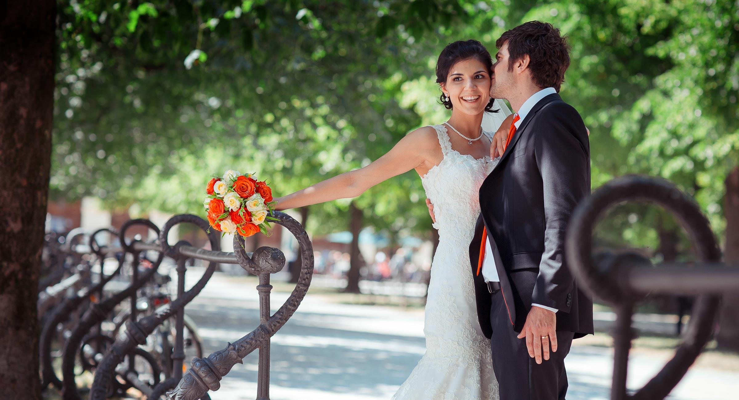 Романтическая свадьба в Мюнхене