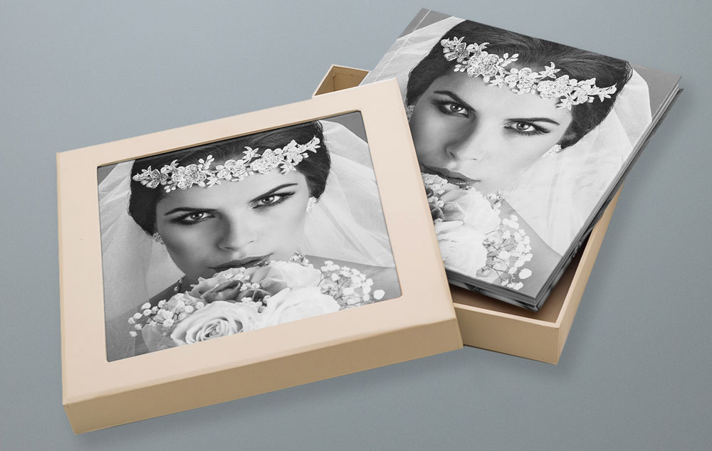 Fotobuch Box mit Fotocover – Hochzeitsfotograf in München