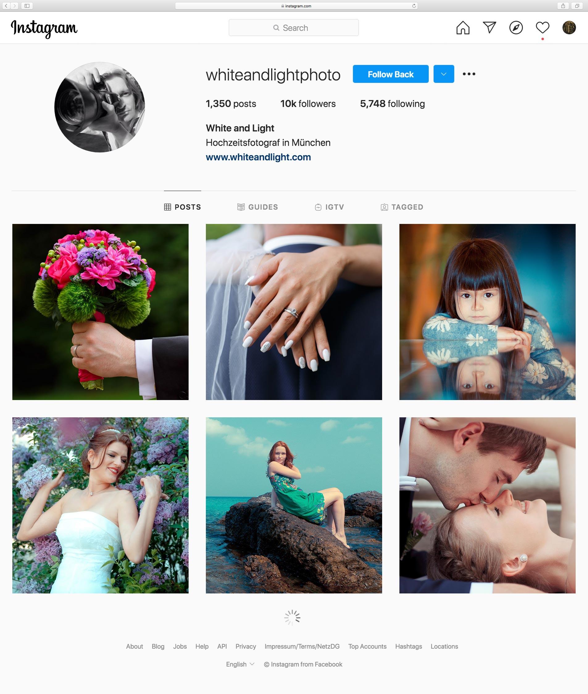 10K Followers auf Instagram kürzlich erreicht